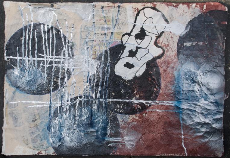 Silver Asemic Spots, Marie Kazalia, 2K9/10
