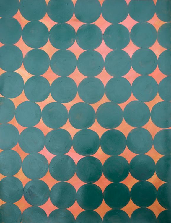 Red earth,Cobalt green, Marie Kazalia, July 2013