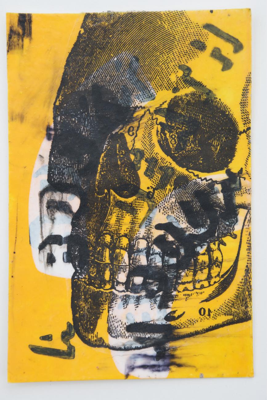 Book about death skull, Marie Kazalia