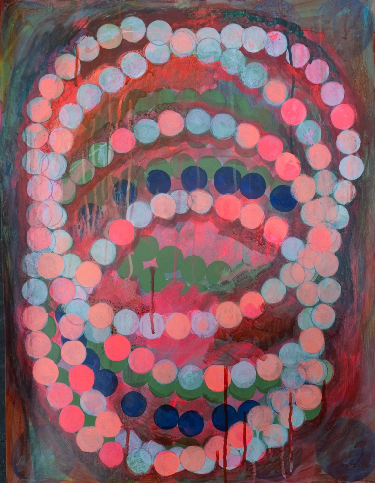 Seeberg 1, painting on Coventry Rag fine art paper, Marie Kazalia, June 2014