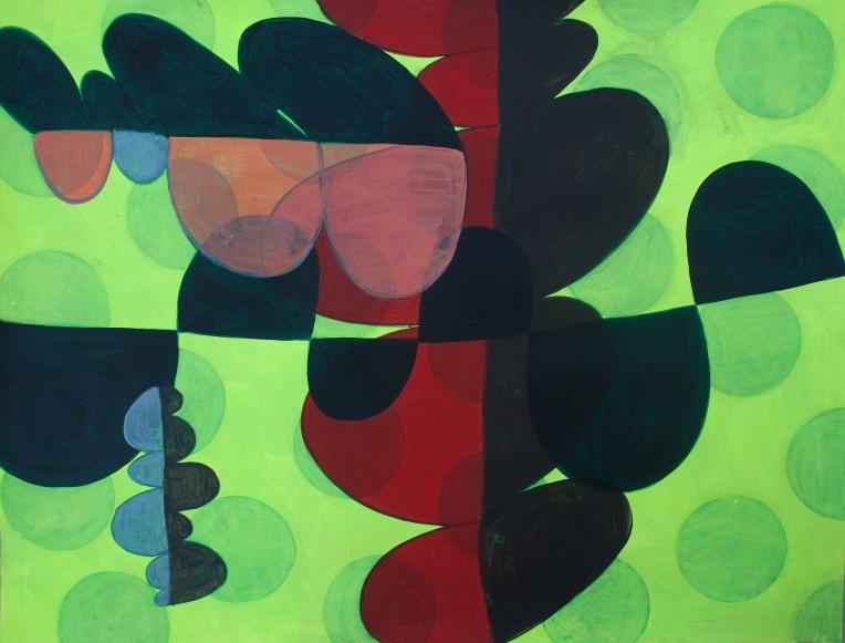 Nite Duty, painting on Coventry Rag fine art paper, March 2014, Marie Kazalia